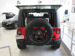 jeep wrangler unlimited sport lifted firecracker red jeep wrangler unlimited sport 4x4 with 37
