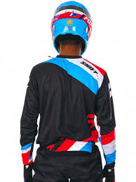 fox motocross jacket shift black 2017 label whit3 tarmac mx jersey shift