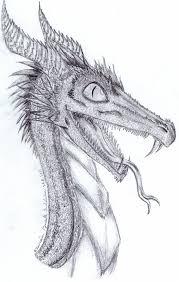 pencil drawings dragons dragon pencil sketch zairieene on