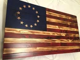 american flag home decor american flag wall hanging flag colonial red white blue rustic flag