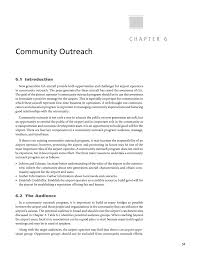 chapter 6 community outreach airports and the newest