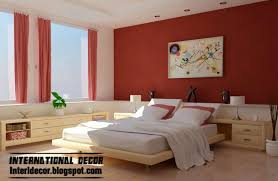 bedrooms astounding red painted rooms room colour red bedroom