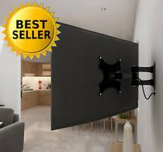 tv wall mount swing out lcd led plasma tv wall mount stand full motion bracket arm tilt