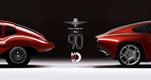 touring superleggera celebrates its 90th birthday in turin