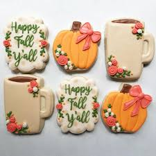 301 best fall thanksgiving cookies images on