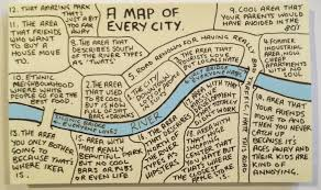 a map of 18 things all cities in common in 1 map big think