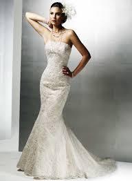 oleg cassini wedding dress oleg cassini a beaded lace mermaid gown with bolero jacket size 7