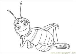 bee movie 08 coloring free bee movie coloring pages