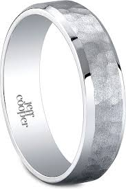 mens hammered wedding bands jeff cooper hammered men s wedding band 6mm r5996h