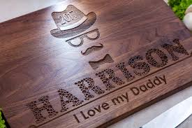 personalized home decor gifts fathers day gift personalized cutting board gift for father unique
