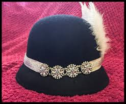 how to make a 1920s hairpiece top off your 1920s look with a diy 1920s headband yaya i am maria