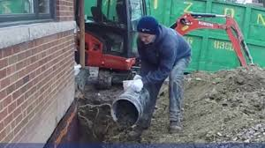 how to basement waterproofing exterior wall weeping tile