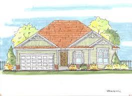 craftsman home plan 3 bedrms 2 baths 1330 sq ft 100 1147