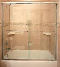 Sliding Bathtub Shower Doors Tub Enclosures