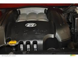 2002 hyundai santa fe v6 2002 hyundai santa fe lx 2 7 liter dohc 24 valve v6 engine photo