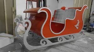 santa sleigh for sale santa s sleigh production process icacreation co uk