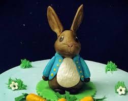rabbit cake rabbit cake topper etsy