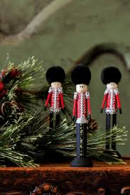 pinspot christmas soldier clothespin ornaments by pinspot on etsy