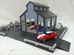buy a hand made wooden toy garage made to order from