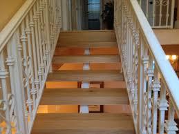staircase refinishing real hardwood or laminate custom finishing