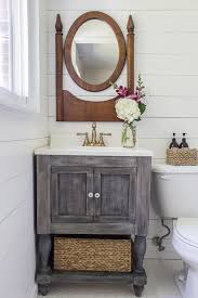 Bathroom Vanity With Farmhouse Sink by Can U0027t Find The Perfect Farmhouse Bathroom Vanity Diy It The