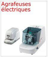 agrafeuse electrique bureau professionnelle machines de bureau matériel de bureau