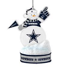 dallas cowboys ornament led snowman www masportsohio