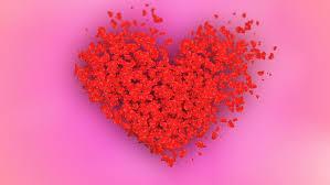 Wedding Backdrop Hd Romantic Flying Red Rose Flower Petals Lovely Heart Backdrop For