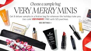 sephora merry gift bag 8 sle bag is available now for