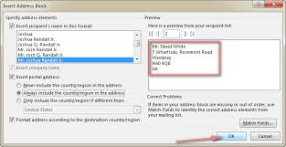 office 2013 mail merge how to mail merge from excel to word