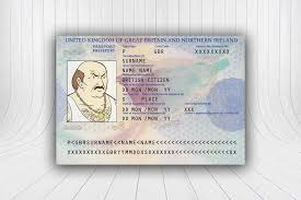 uk passport template make your own fake id wickybay
