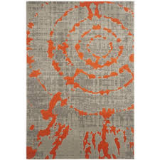 Orange And White Rugs Area Rugs Marvelous Black And White Rugs As Gray And Orange Area