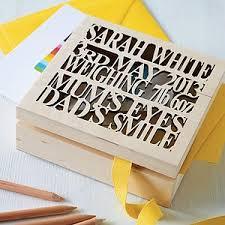 personalized wooden keepsake box personalised wooden baby keepsake box children s room