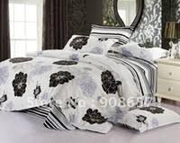 Black Floral Bedding Grey Floral Bedding Sets Online Wholesale Distributors Grey