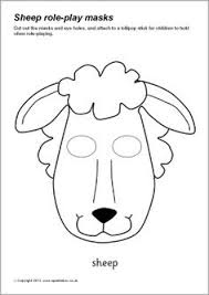 how to make a donkey mask with free printable template for kids