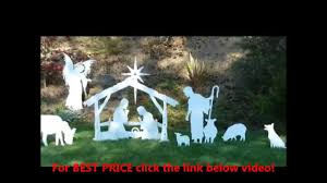 medium outdoor nativity sets prices outdoor