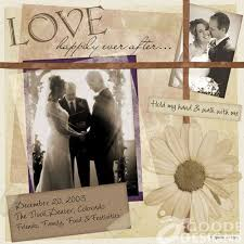 wedding scrapbook pages adorable wedding scrapbook ideas 17 sheriffjimonline