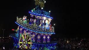 christmas light parade floats tangled float in dreamlights at tokyo disney tdr explorer