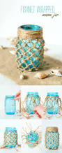 nice fishnet wrapped mason jars by http www dana homedecor xyz