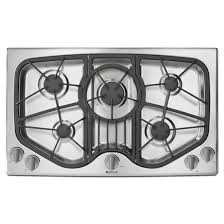 Modular Gas Cooktop Kitchen The Most Jgd8345adb Designer Line Modular Gas Downdraft