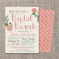bridal luncheon invitations templates bridal brunch invitations kawaiitheo