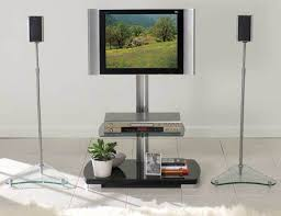 table for home theater system sanus htb4 home theater series speaker stands speaker stands