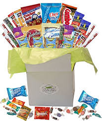 snack basket snack gift basket care package with 26 sweet and salty snacks plus