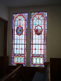 stained glass windows for chattooga baptist church in lafayette ga
