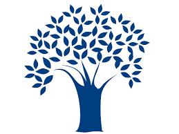 blue tree clip at clker vector clip royalty
