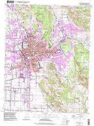 Meeker Colorado Map by Santa Rosa Topographic Map Ca Usgs Topo Quad 38122d6