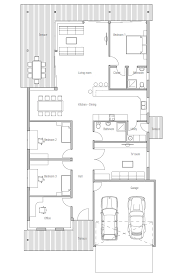 narrow house plans with garage modern house ch117 1f 215m 3b house plan to narrow lot house plan