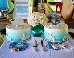 Nautical Baby Shower Sheet Cake Ideas Ahoy Its A Boy Life Is Sweet