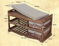 stupendous solid wood bench with storage u2013 portraitsofamachine info