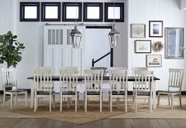 aamerica toluca 13 piece leaf table and slat back chair dining set